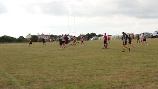 Mixed age touch 1 at Rugby Camp July 2016