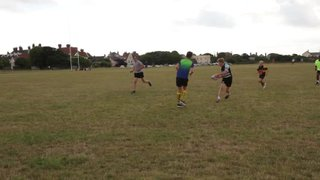 Mixed age touch 2 at Rugby Camp July 2016