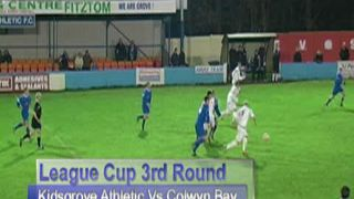 LC 3rd Rd - Kidsgrove Athletic Vs Colwyn Bay