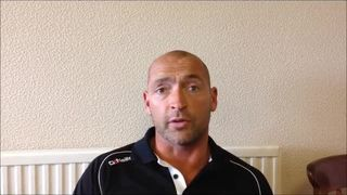 29-08-2015 - Grantham Town v Ashton United - Post match interview with Grantham Town Manager Adam Stevens