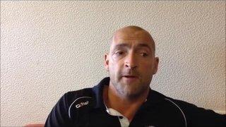 05-09-2015 - Grantham Town v Marine - Grantham Town Manager Adam Stevens