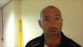 19-09-2015 Nantwich Town v Grantham Town - Grantham Town manager Adam Stevens
