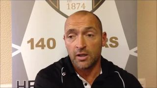 18-10-15 Grantam Town v Skelmersdale United - Grantham Town manager Adam Stevens