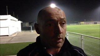 31-10-2015 Basford United v Grantham Town - Grantham Town manager Adam Stevens