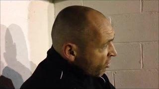 27-12-2015 Frickley Athletic v GranthamTown - Grantham Town manager Adam Stevens