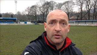 12-3-2016 - Ramsbottom United v Grantham Town - Grantham Town Manager Adam Stevens
