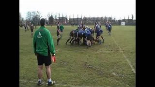 Spalding's second try vs Grimsby Sat 27th feb 2010
