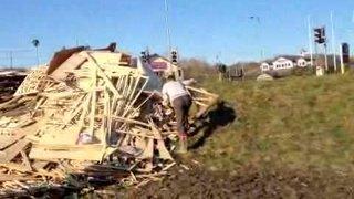 Building a Bonfire 2011