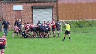 Wolves V Vale of Lune - Vale try after yellow card