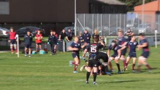 04102014 Wolves V Broughton Park - Lead up to Yellow Card