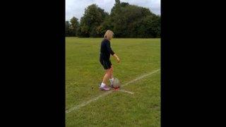 Girls u15 goal kicker (2) (15/22m)