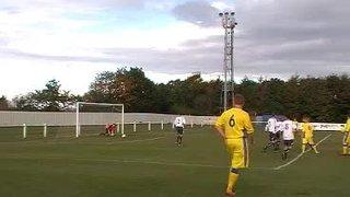Luke playing for Bootle Reserves v Ashton Athletic