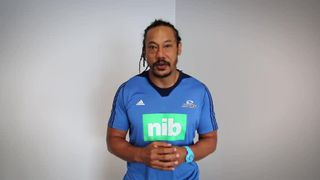Tana Umaga sends his best wishes to the U13s from Chinnor & Gosford All Blacks