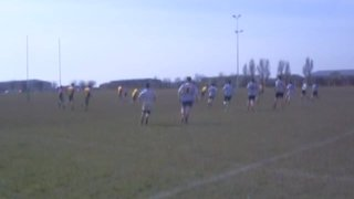 Skegness tour 2013 - first try of the game within 45 seconds!