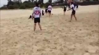 Ladies Beach Rugby - Nov 2013