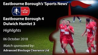 'Sports News': Eastbourne Borough 4 v 3 Dulwich Hamlet – Emirates FA Cup Highlights
