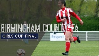 HIGHLIGHTS: U16's GIRLS COUNTY CUP FINAL 2019 - Coventry v Stourbridge