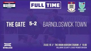 GOALS: Squires Gate 5-2 Barnoldswick Town