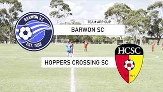 Barwon vs Hoppers Crossing - Womens Team App Cup Round 2, Highlights