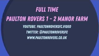 GOALS - Paulton Rovers 1 - 2 Bristol Manor Farm (5th Jan 2019)