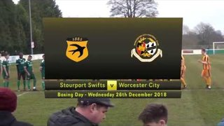 Stourport Swifts v Worcester City  - Boxing Day 2018