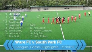 Ware FC v South Park FC