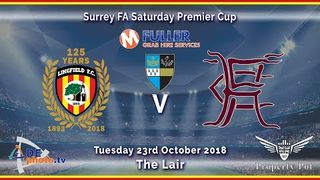 HIGHLIGHTS - Lingfield FC v Horley Town Res - Surrey Premier Cup - 23-10-2018