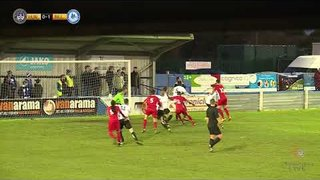 Sam Deering Penalty | Hungerford Town vs Billericay Town | FA Trophy | 25.11.2017
