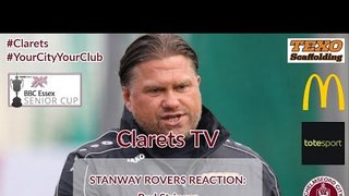 REACTION: Rod Stringer - Post Stanway Rovers (A) - 08/10/2019