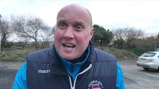 POST MATCH INTERVIEW - Truro City 2-0 Oxford City
