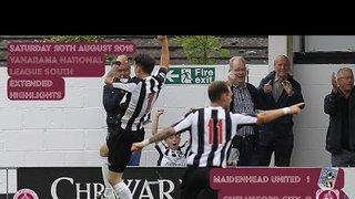 Highlights - Maidenhead United vs Chelmsford City