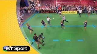 Pitch Demo: Stuart Hooper pass behind masterclass | Rugby Tonight