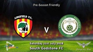 Lingfield FC 3v1 Chipstead FC - Pre Season - HIGHLIGHTS - 21-07-2018