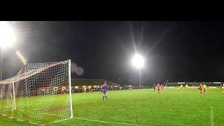 Another view of Joe Boachie's brilliant strike v Wisbech 26 12 18