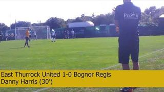 East Thurrock United vs Bognor Regis - Highlights