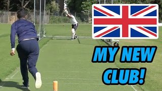 TRAINING WITH MY NEW CLUB IN THE UK | SCOLLS STORIES 238
