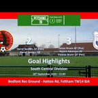 Goal Highlights Vrs Ware FC - Isthmian - South Central Division, 26 September 2020, 15:00