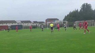 Kevyn Fowler scores Jeanfield's first ever Super League goal