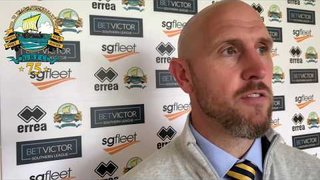 Hayes & Yeading [H] GOSPORT 1-1 Hayes & Yeading: MANAGER INTERVIEW.