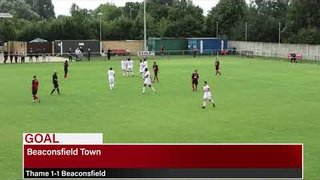 Goals! Thame United v Beaconsfield Town