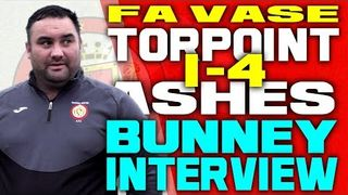 Dane Bunney Post-Match Interview | Torpoint Athletic v Saltash United, 12-10-2019 (FA Vase)