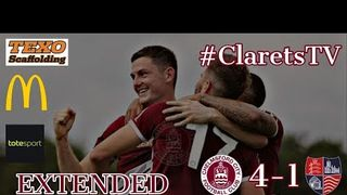 EXTENDED HIGHLIGHTS: Chelmsford City 4-1 Hampton & RB - 03/08/2019