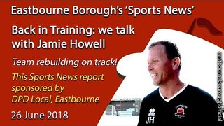 'Sports News': Jamie Howell Talks About Rebuilding for Next Season's National League South