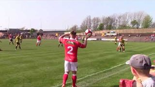 WORKINGTON REDS VS LANCASTER CITY GOALS