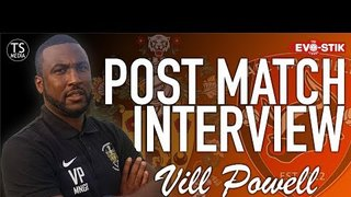 12/01/19 - Vill Powell Post AFC Mansfield