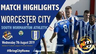 Worcester City 1 South Normanton Athletic 0 - 7th August 2019