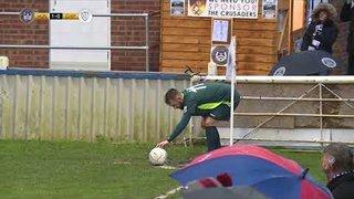 Darren Mullings equalises | Chippenham Town | National League South | 26.12.17