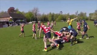 Crowborough RFC U12's vs East Grinstead - 1st half  (22/4 /18)