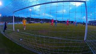Ollie Brown-Hill scores a penalty for Stamford