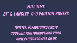 Blackfield & Langley 0 Paulton Rovers 0   Match Highlights